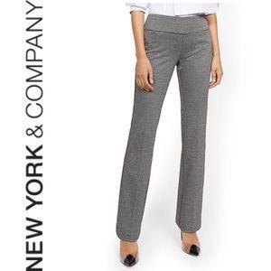 NWT {NY & COMPANY} Whitney Ponte Pull-On Pant